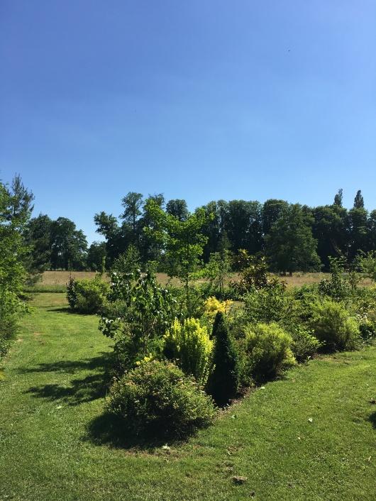 entrée arboretum