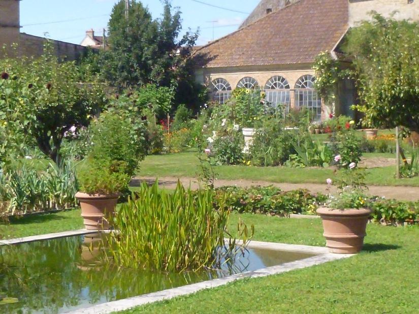 orangerie et bassin